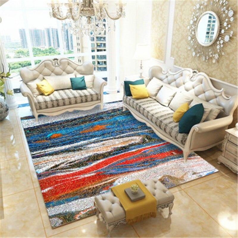 Grand tapis 3D univers ciel étoilé bureau tapis maison salon tapis chambre chaise Table tapis enfants chambre tapis de sol