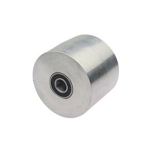 Image 3 - 1 piece Belt Grinder Knife Grinder Wheel Fully Aluminum Contact Wheel Active wheel