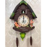 Alarm Clock Cuckoo Bird Wall Clock Guess Women Watch Mechanism Brief Children Home Decoration Quartz Relogio Parede Gift WZH085