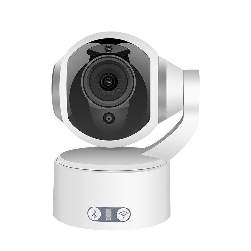 Meisort Bluetooth haut-parleur ip sans fil wifi caméra 1080 p HD 2.0mp lecteur de musique surveillance de sécurité réseau webcam bébé moniteur