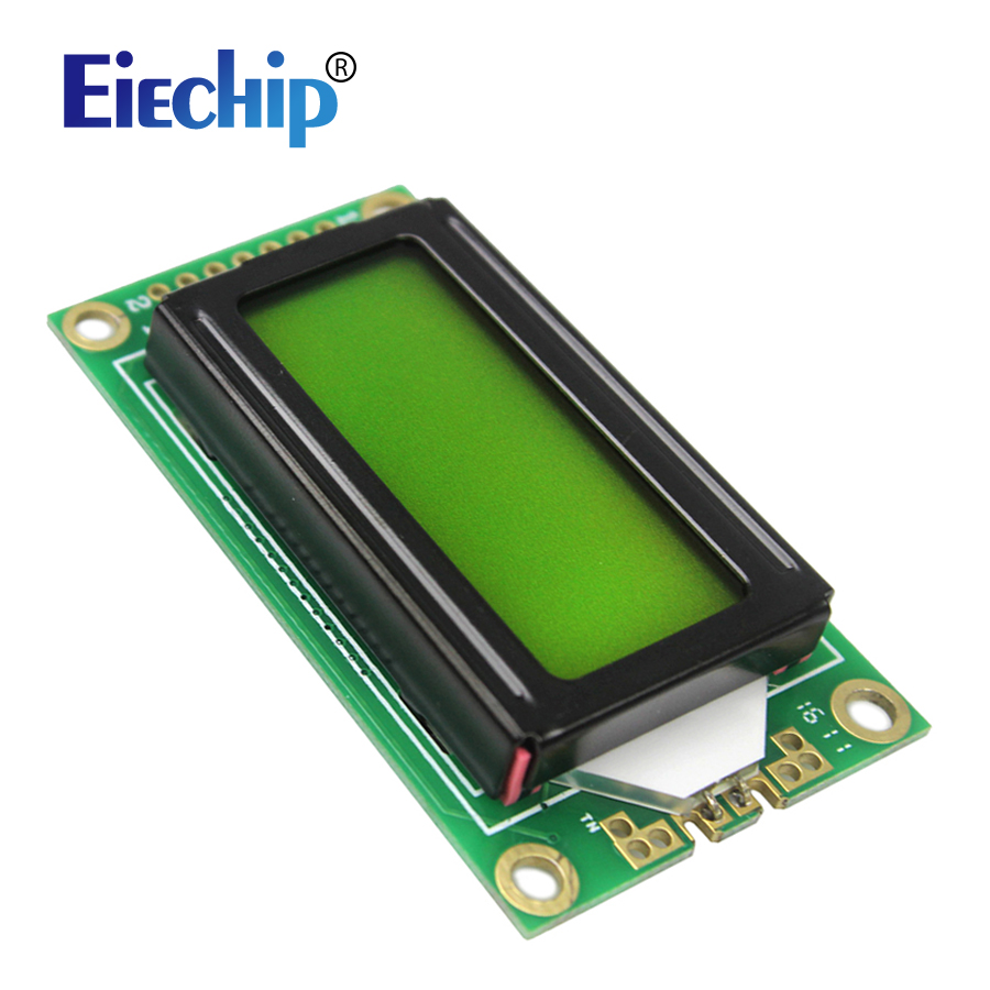 Free shipping Smart Electronics Green LCD0802 Character Display Module 5V 0802 for arduino