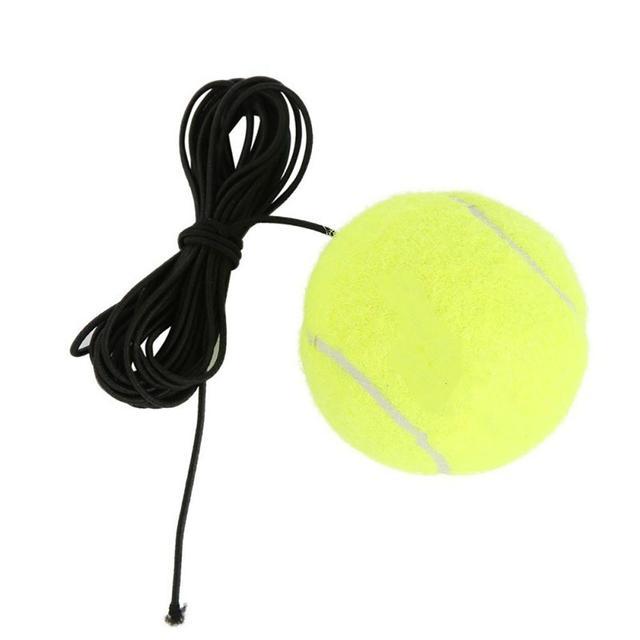 Эластичная резинка теннисный мяч одной практики спортивный пояс сетевой шнур инструмент