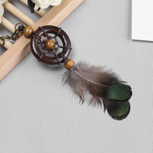 Vintage Mini Dreamcatcher Car Nursery Decor Pendant Indian Dream Catchers Wind Chimes & Home Wall Hanging Decoration Gifts