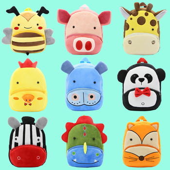 kawaii cute plush backpack metoo doll soft cartoon animal stuffed toy for girl kid children school shoulder bag for kindergarten Cartoon zoo animal plush school bag kids cute mini backpack Children's gifts for kindergarten student boy girl baby schoolbag