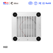 Realan H60 HTPC Computer Case Chassis Aluminum Mini ITX Case PC Box Without Power Supply Free Shipping