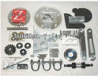 Горячая продажа! Промежуточный вал сдвигатель комплект для Бензиновый двигатель для велосипеда комплект велосипед двигатель 50куб