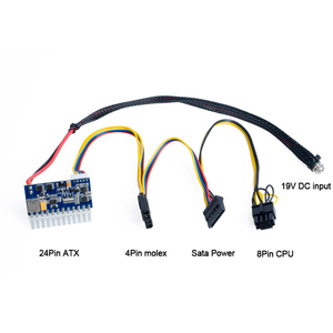Image 2 - DC ATX Peak PSU 19V 200W Pico ATX Switch Mining PSU 24pin MINI ITX DC to ATX PC Power Supply For Computer