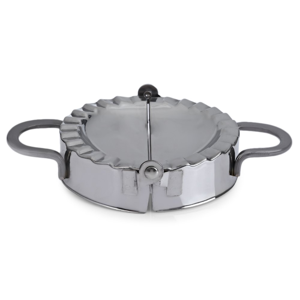 Tools stainless steel wraper dough cutter pie ravioli dumpling mould -  New Fashion Pastry Tools Stainless Steel Dumpling Maker Wraper Dough Cutter Pie Ravioli Dumpling Mould Kitchen
