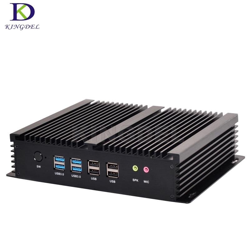 Big Promotion Fanless Mini PC Windows10 Core I7 5550U 4500U I5 4200U I3 4010U  Industrial PC Rugged PC Mini Computador 4K TV Box