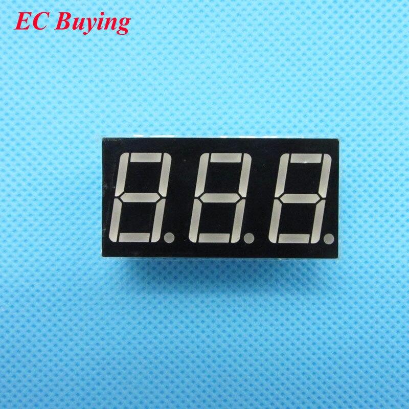 10pcs 3 Bit 3bit Digital Tube Common Cathode Digital Tube 0.56