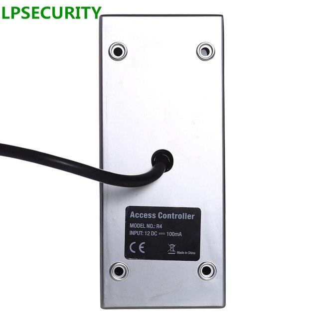 LPSECURITY Metal kasa su geçirmez IP65 RFID/EM anahtar kartı okuyucu Wiegand26 R4