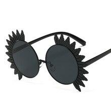 2017 Eagleborn Women Sunglasses Female Sunglasses round lens Unique Design Famous Brand Designe roculos de sol feminino 6 colors