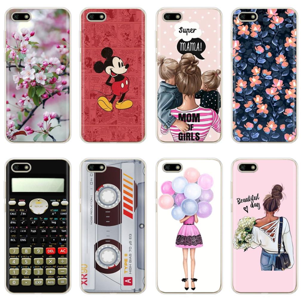 Soft Silicone Cover For Huawei Y5 2018 Y5 Lite 2018 TPU Cute Case For Huawei Y5 Y 5 Prime 2018 Fundas Coque Phone Capas Bumper
