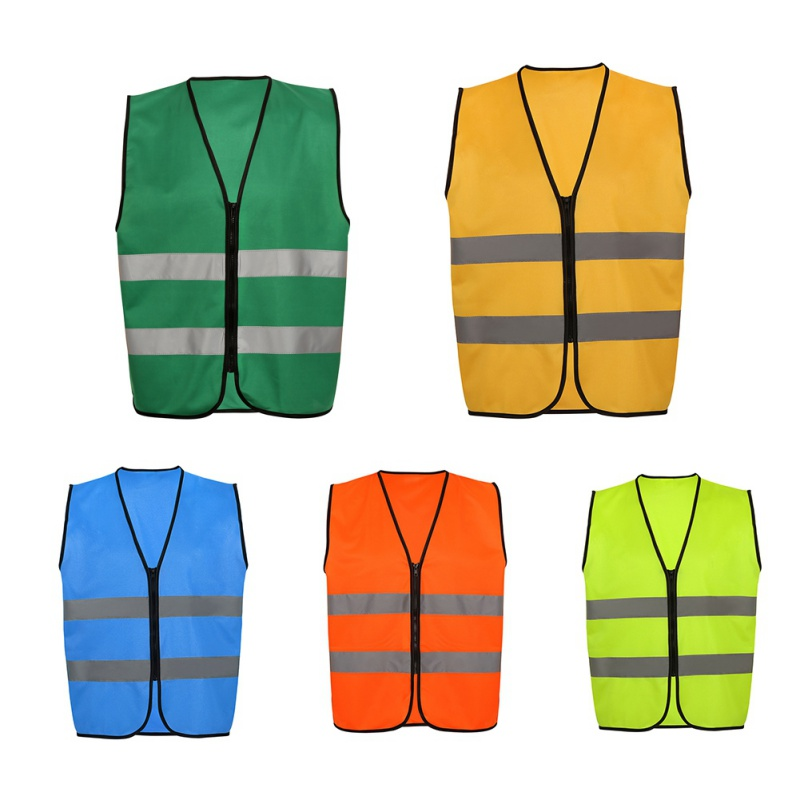 Outdoor High Visibility Reflective Vest Men Women Workplace Road Working Clothes Cycling Sports Reflective Safety Clothing