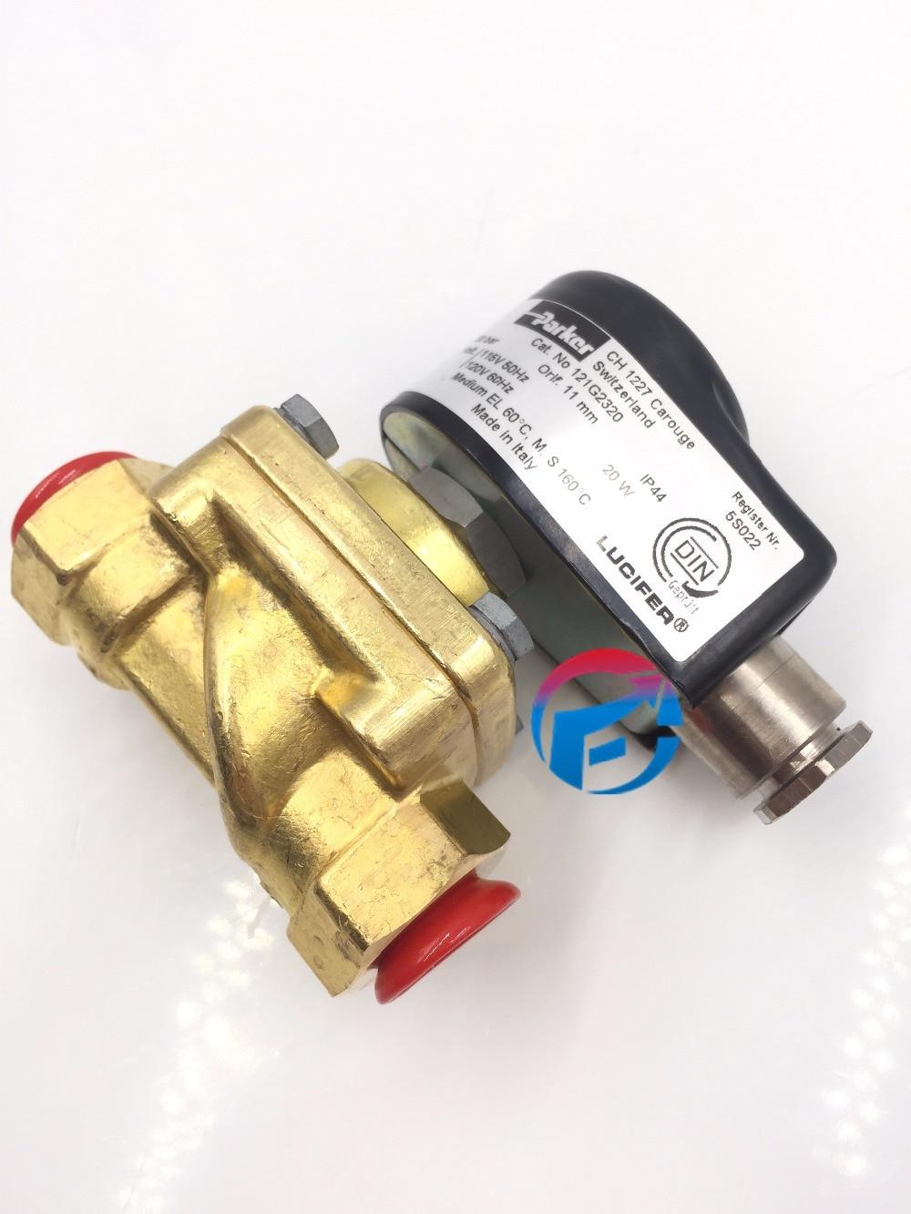 Паркер Люцифер электромагнитные клапаны 121G2320 (7121GB34VT0) для масляной горелки новые и оригинальные