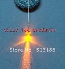 Мм 500 шт. 3 мм желтый рассеянсветодио дный светодиод 3 К MCD Лампы низкая цена