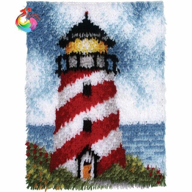 DIY Наборы Unfinshed 3D вышитые ковер 3D embroidery ковер вышивки крестом diy крюк с Защелкой ковер комплекты крючки Рукоделие