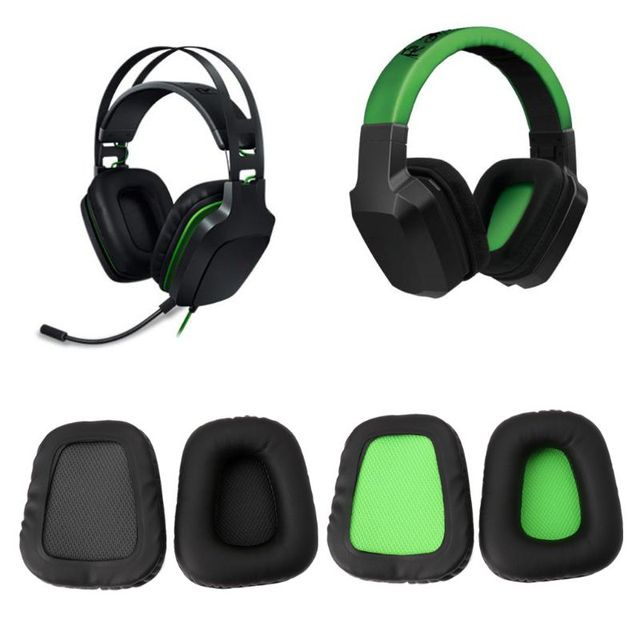 Substitua eapads earmuffs almofada para razer electra jogos fones de ouvido