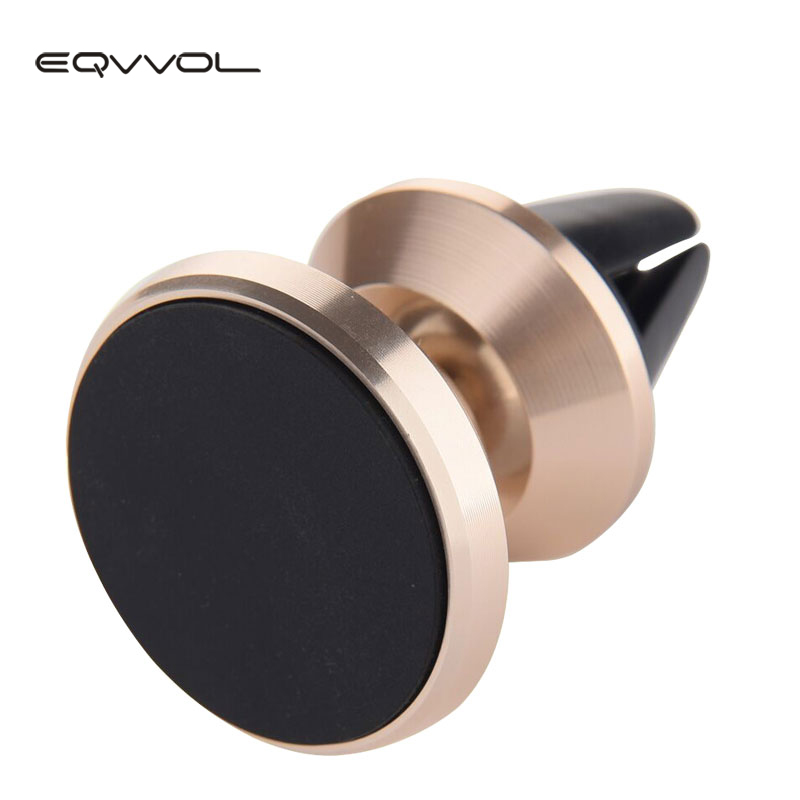 Eqvvol Universal Multifunction Strong Magnetic Holder For iPhone GPS Car Air Vent Mount Cell Phone stand 360 Degree Rotation