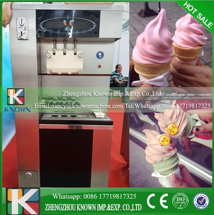 CNF Trem Shipping By Sea  Ice Cream Vending Machine Automatic Microprocessor Control Vending Machine Whatsapp 008617719817325