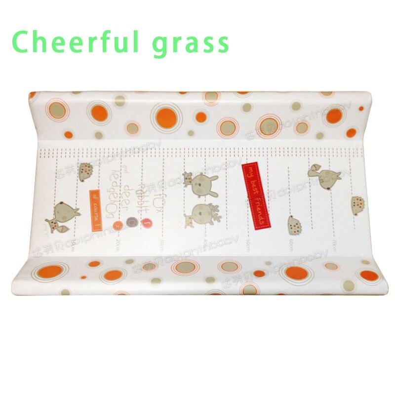 Joyeux herbe bébé table à couches bébé table de soins bébé couche-culotte pad bébé imperméable dressing pad tactile changement table à couches