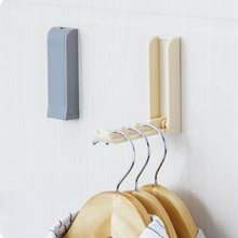 Creative Foldable Door Hooks Household Invisible Collapsible Coat Hooks Storage Holder Wall Hanger(China) & Folding Coat Rack Promotion-Shop for Promotional Folding Coat Rack ...