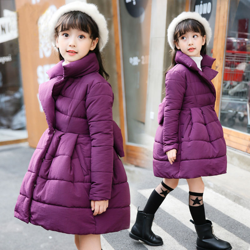 2018 hot sell Jackets For Girls Clothes Children Clothing Girls Winter Coat Fashion Thick Cotton Jacket Parka Kids clothes new arrival lathe taper shank drill chuck b18 3 16mm with key morse 4 mt4 shank for cnc
