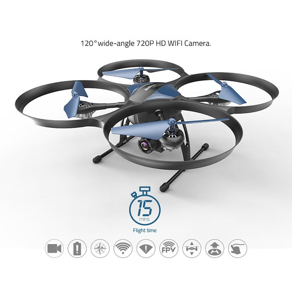 Drone quadricoptère professionnel avec caméra UDI U818A PLUS 2.4 Ghz WIFI FPV Drone avec 120 degrés grand Angle HD caméra Drone