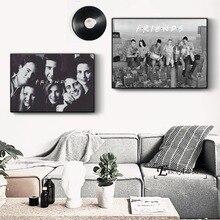 Amigos TV series de cine arte cuadro artístico impreso sobre lienzo de pared moderno foto hogar Decoración dormitorio carteles decorativos No marco Cuadros