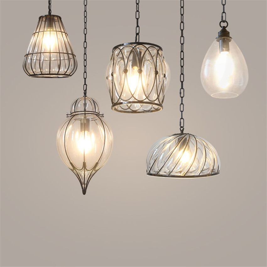 Modern Pendant Lamp Creative Industrial Lighting Bar Cafe