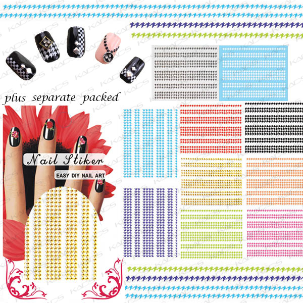 50 Hoja/lot 3D Swallow ceñíos Nail Art Sticker lace sticker Decal diseño de uñas accesorios de uñas individualmente embalaje