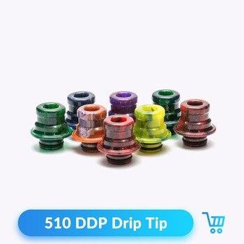 Quartz Banger 100pcs 510 DDP Drip Tip Resin for RDTA Tank Vaporizer Atomizer Vape Mouthpieces Electronic Cigarette Accessories