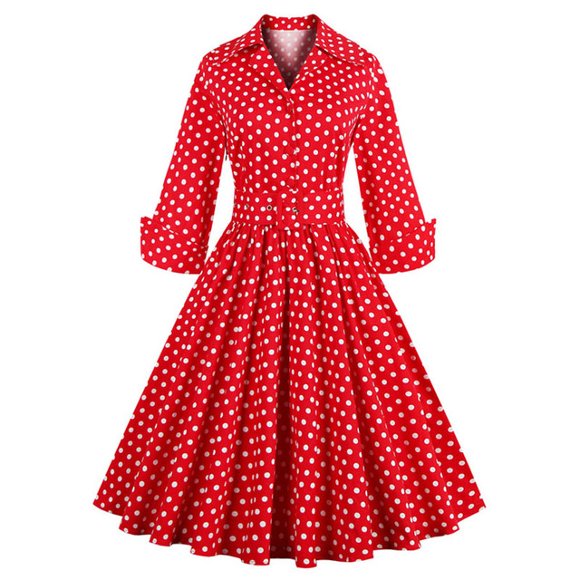 Womens Plus Size Clothing Winter Autumn Dress 2016 Red Navy Blue
