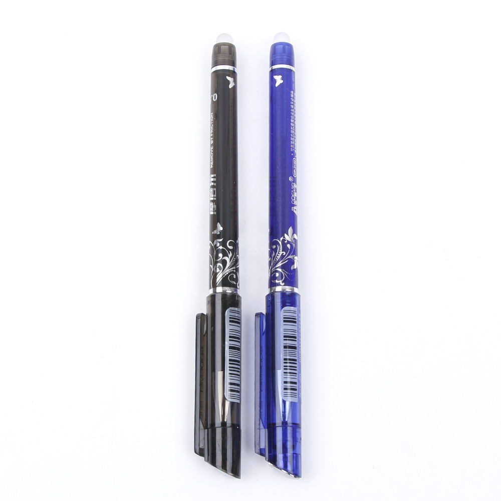 1Pc Novelty Office Flower Vine Butterfly Erasable Pen 0.5mm Ink Gel Pen Student