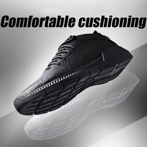 Image 2 - YIGER New mens sports shoes genuine leather man casual slip on shoes spring cow leather male leisure shoes pure black  0264