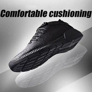 Image 2 - YIGER חדש גברים של ספורט נעלי עור לגברים מקרית להחליק על נעלי אביב פרה עור זכר פנאי נעליים טהור שחור 0264