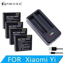 4Pcs AZ13-1 AZ13  batteries 1010mAh Li-ion Digital Battery For Xiaomi Yi Action Camera Accessories+ USB battery charger стоимость