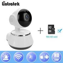hot deal buy lintratek new video surveillance ip camera wifi hd 720p mini wi-fi security ptz camera wireless onvif home camera baby monitor