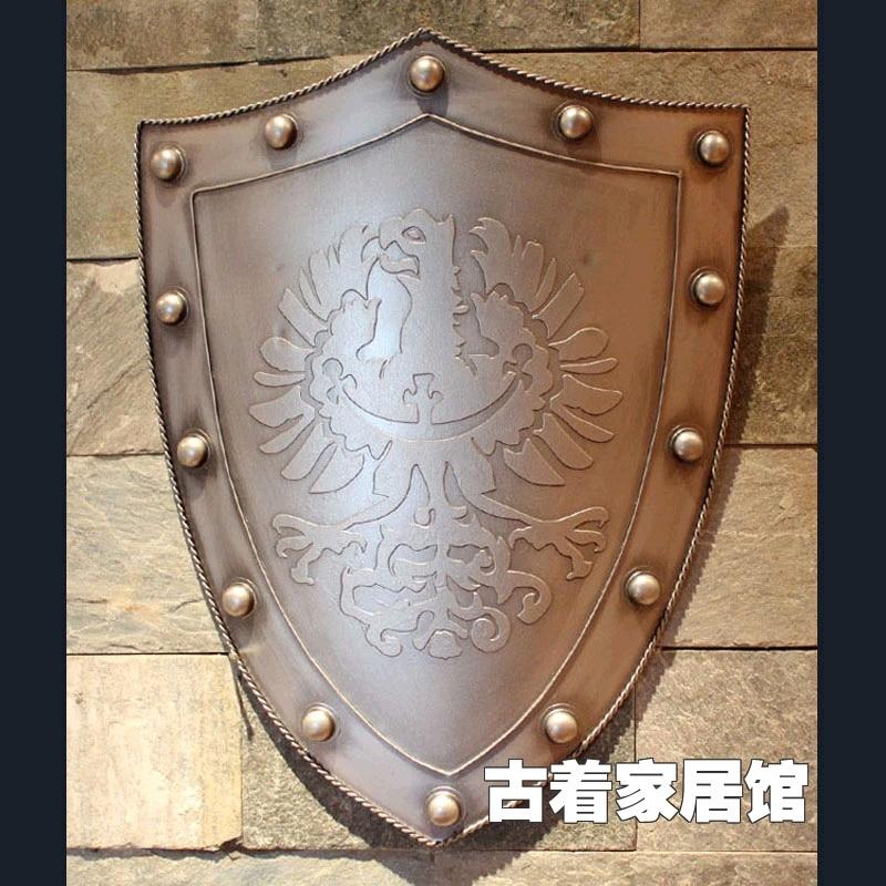 Shipping  Cosplay film props shield  metal  iron