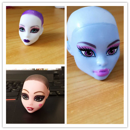 One Doll Heads Diy Doll Heads For Monster Inc,accessories For Monster Toys Dolls