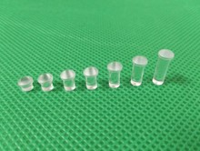 Free shipping 100PC 4MM Clear color Round LIGHT PIPE PNL MNT 6MM 8.9MM LONG FOR 4MM Led Diode LED Tube Lampshade Replace PLP5 2