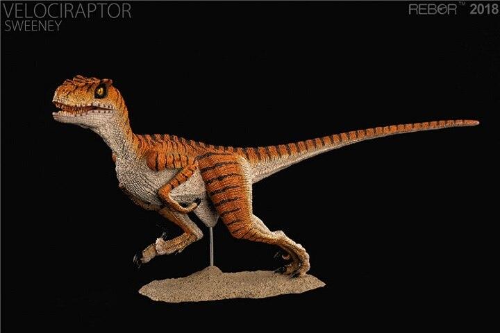 2018 nuevo Velociraptor SWEENEY dinosaurio juguete modelo clásico juguetes para niños con caja al por menor-in Figuras de juguete y acción from Juguetes y pasatiempos    2