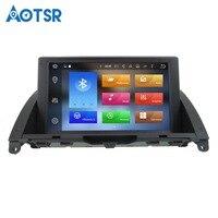 Aotsr Android 8.0 Car GPS Navi For Mercedes Benz C Class W204 C200 2007~2014 Radio Audio Video Car dvd Player headunit recorder