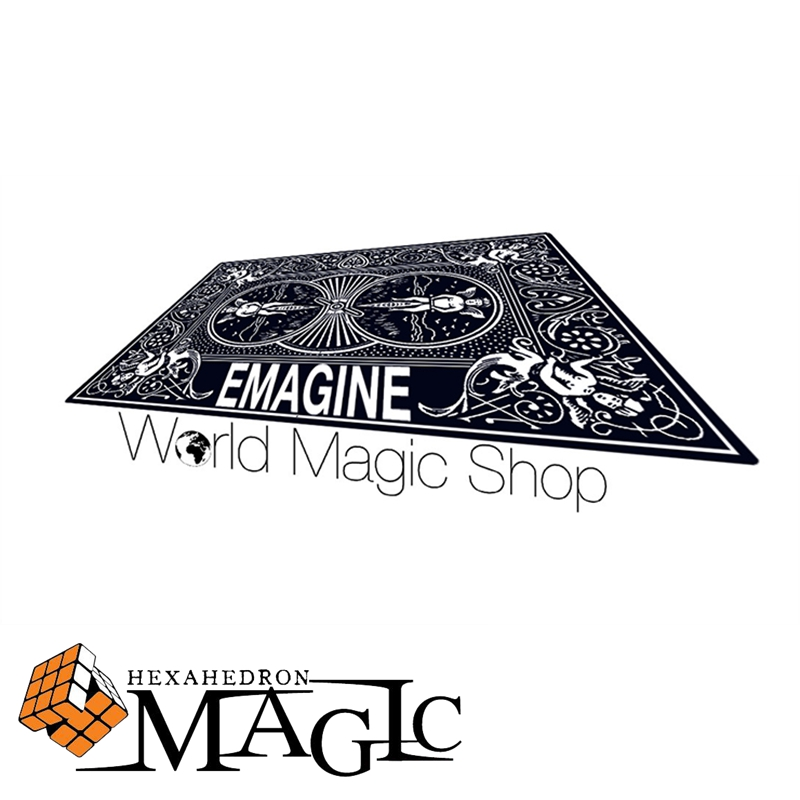 Free shipping! Emagine Sebastian Calbry (Gimmick and Online Instructions) close up Street mentalism Classic card magic tricks