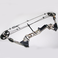1 Piece Camo Draw Weight 20 70lbs Compound Bow Type Adjustable Draw Length 17 29 for Archery Hunting Shooting