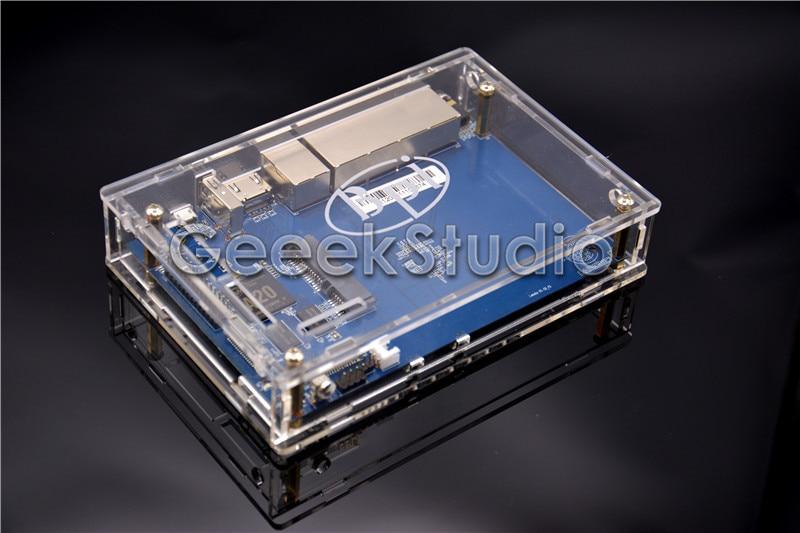 все цены на Banana Pi R1 BPI-R1 Smart Home Open-Source Wireless Router + Transparent Acrylic Case Enclosure Shell Cover онлайн
