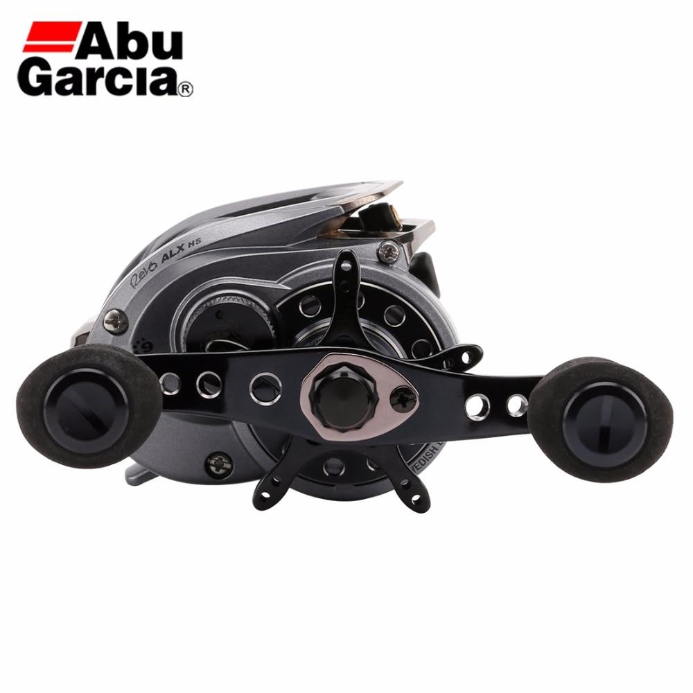US $139 99 48% OFF|Abu Garcia Revo ALX 8 0:1 Baitcasting Fishing Reel 9BB  155g Water Drop Wheel Adjustable Magnetic Brake System Max Drag 7 3kg-in