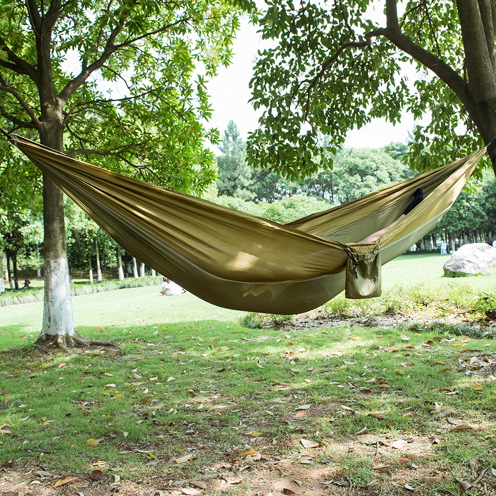 Outdoor Parachute Hammock Portable Hammocks Travel leisure Garden Swings Hiking Lightweight Nylon Camping Hammock beds lightweight hammock big hammock amaca camping
