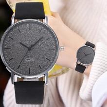 susenstone Fashion Women Leather Casual Watch Luxury Analog