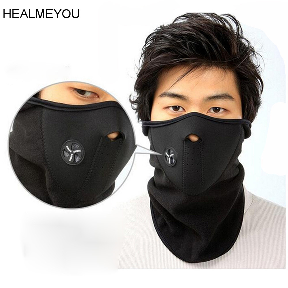 Neoprene Neck Warm Half Face Mask Winter Mask Windproof Bike Bicycle Cycling Mask Snowboar Masks Dust